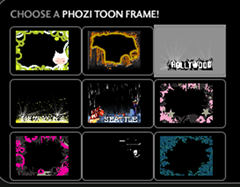 Phozi Toon Frame Options