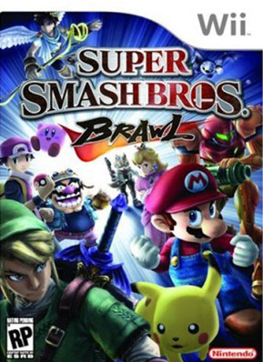 Super Smash Bros. Brawl Cover Art